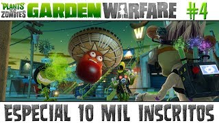 Plants vs. Zombies Garden Warfare #4 - ESPECIAL 10 MIL INSCRITOS