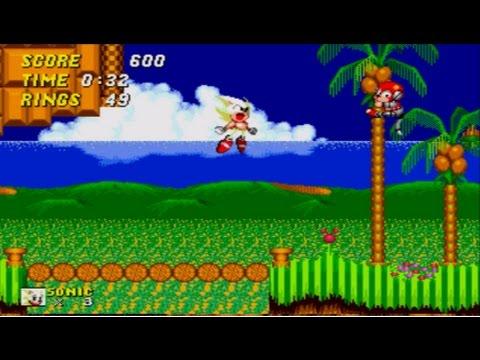 Super Sonic In Sonic 1 Hack
