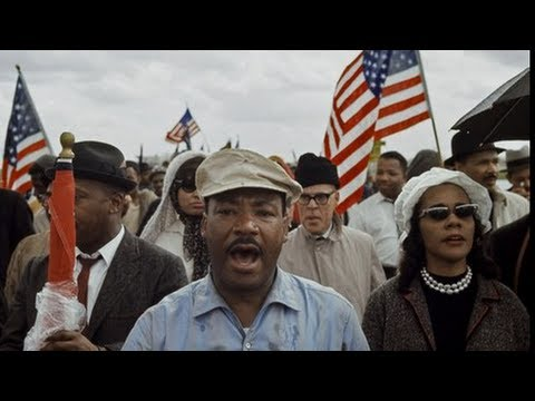 Rare Video Footage of Historic Alabama 1965 Civil Rights Marches, MLK's Famous Montgomery Speech