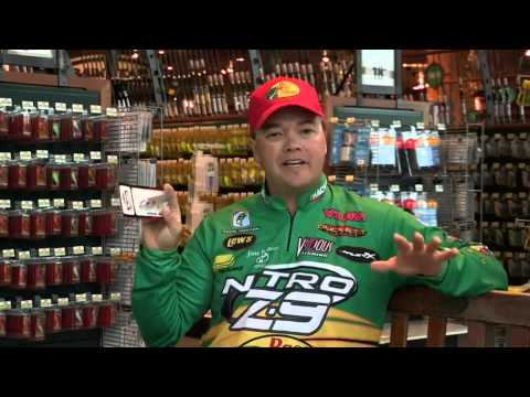 Tim horton talks fishing line types and when to use them for Tim horton fishing