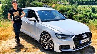 тест НОВОЙ Ауди А6! Вот почему у БМВ и Мерседес ПРОБЛЕМЫ - Audi A6 имеет преимущества! Обзор 55 TFSI
