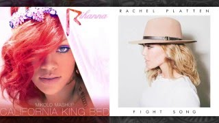 Rihanna vs. Rachel Platten - California King Bed (Mashup)