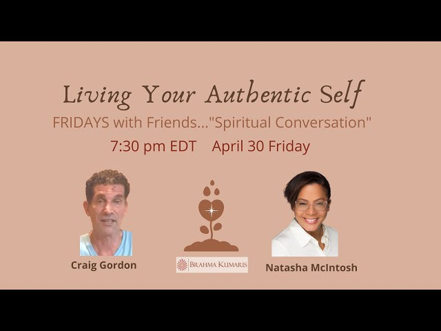 Friday Conversations with friends: Living Your Authentic Self with Craig & Natasha