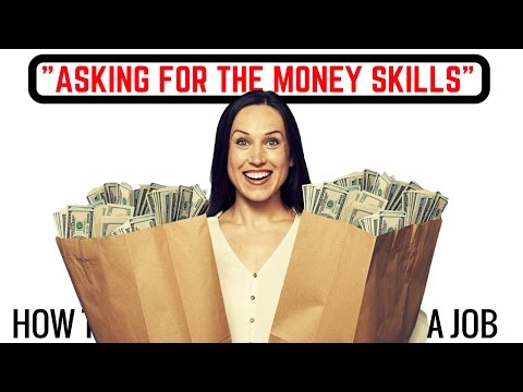How to ASK for Money? -Why You Need To Do It and Why You are Afraid To Do It