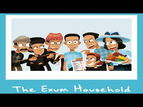 Kyle Exum – The Exum Household (The Family Rap,Trap 3 Little Pigs,The Mom Rap, Girlfriend Rap)
