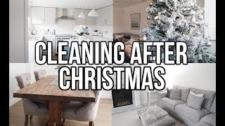 CLEAN WITH ME AFTER CHRISTMAS || EXTREME CLEANING MOTIVATION