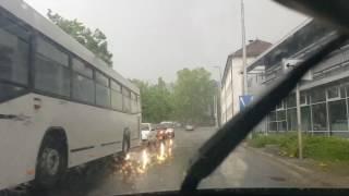 Szekszárd, vihar 2017. május 3.