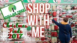 DOLLAR TREE | SHOP WITH ME | CHRISTMAS 2017!!!