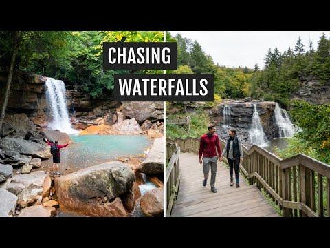 Chasing waterfalls at Blackwater Falls State Park + Bear Rocks at Dolly Sods (West Virginia)