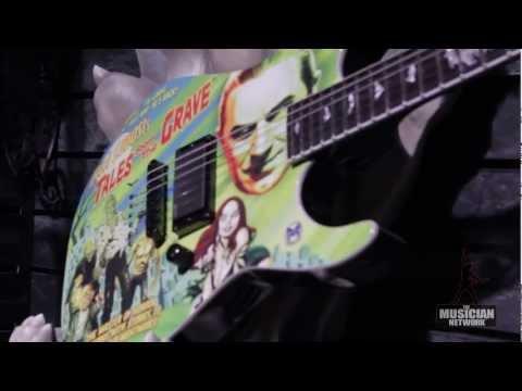 ESP Guitars - NAMM 2013 - Booth Walkthru (Raw Footage)