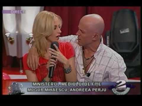 Garcea la blonde funny Romanian guy girl men girls Romania