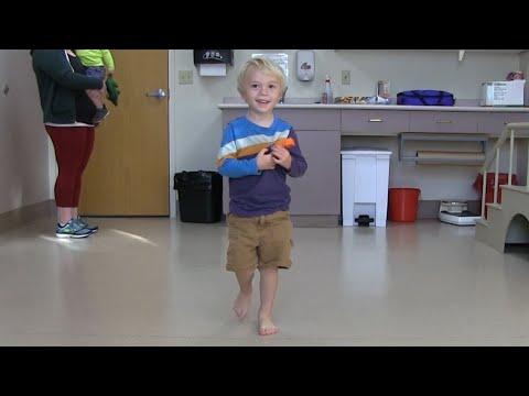 Before and After | Mild toe walking | JumpStart Softback