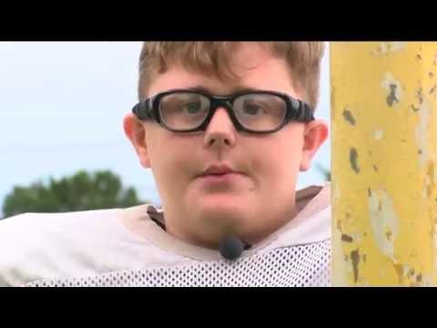 Justin J. Watt Foundation & The Cudahy Jr. Packers - Jacob Kittilstad (9/22/16, CBS 58)