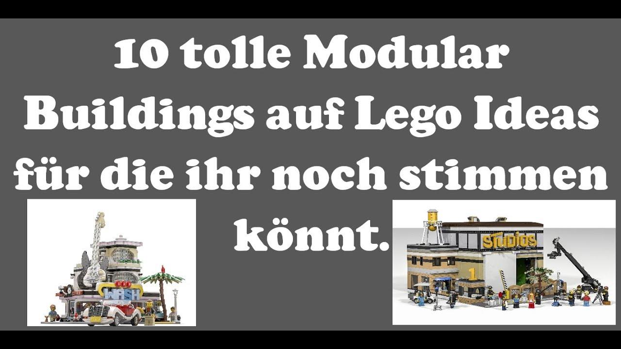 10 Lego Ideas Modular Building für die Ihr noch stimmen könnt