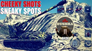 SNEAKY SPOTS AND CHEATY SHOTS World of tanks Blitz