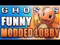COD Ghosts Modded Lobby Fun - FLYING DOG RETURNS! (Cows, Super Jump, & Beach Madness) | Whos Chaos
