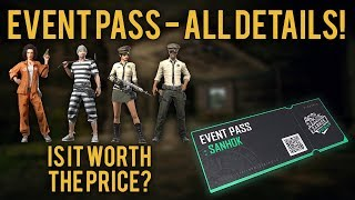 PUBG News | EVENT PASS | IS IT WORTH BUYING? ALL DETAILS!