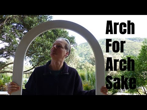 Making a Window Arch with Cordless Makita Router & Cordless Hitachi Nailer