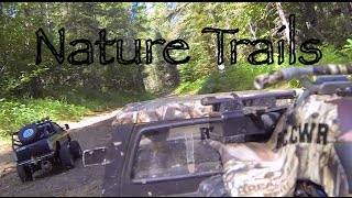 RC CWR Nature Trails with TF2 and Tamiya F-350
