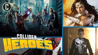 Best Comic Book Movies & TV of the Decade: Logan, Punisher, Wonder Woman, Deadpool and More - Heroes