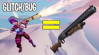 "Turn the New Combat Shotgun into a Slide with this ""Hack"" in Fortnite"