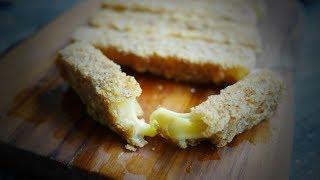 Сырные палочки в панировке - рецепт быстрой закуски к пиву
