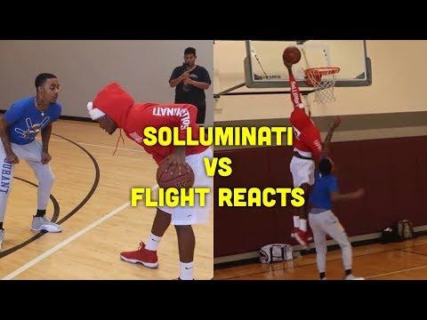 SoLLUMINATI vs FLIGHT 1v1 (Raw Footage)