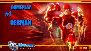 DC Universe Online Gameplay German