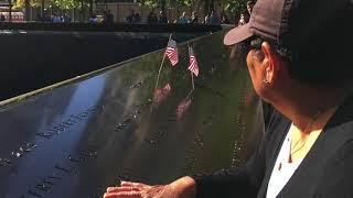 Visita al museo del 11 de Septiembre donde murieron 3000 personas entre ellos tres peruanos