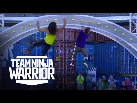 Iron Grip vs. Lab Rats | Team Ninja Warrior | American Ninja Warrior