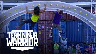 Iron Grip vs. Lab Rats | Team Ninja Warrior | American Ninja Warrior
