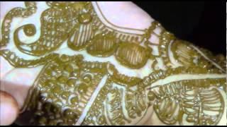 How To Apply Bridal Mehendi On Hand-Henna Mehndi Application Tutorial Thumbnail