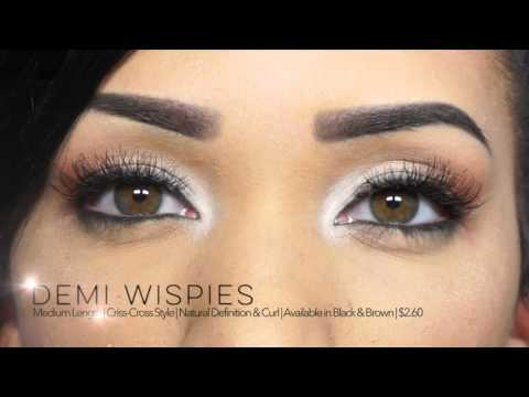 5d0fa826409 Ardell Try On! See how these 20 popular Ardell lash styles will look on  you! - YouTube