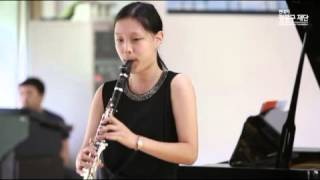 W. A. Mozart - Clarinet Conerto K22 1st mov : 김혜수 [클라리넷]