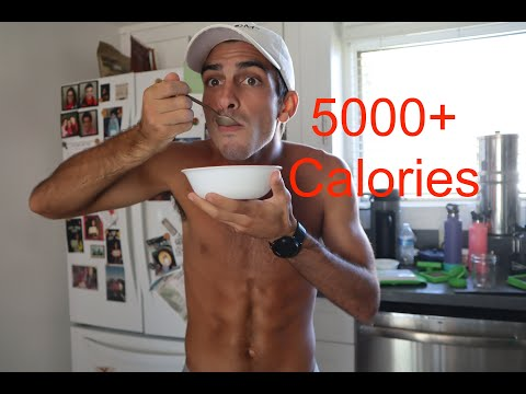 EVERYTHING I EAT IN A DAY (DISTANCE RUNNER) | 5695 CALORIES