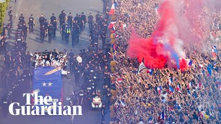 France parade World Cup in Paris as fans welcome heroes home