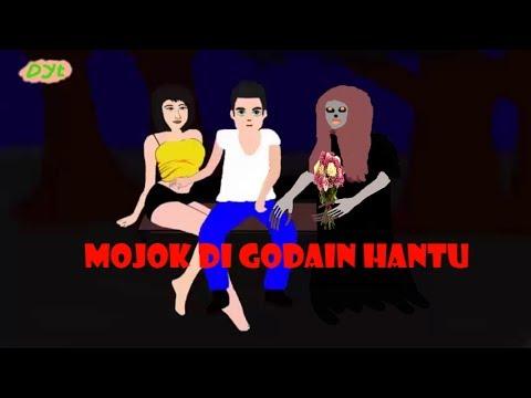 film kartun hantu | lagi mojok di godain hantu | kuntilanak jatuh cinta