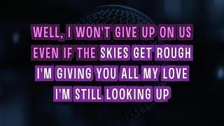 I Won't Give Up (Karaoke Version) - Glee Cast | TracksPlanet