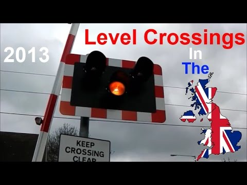 Level Crossing In The UK - 2013