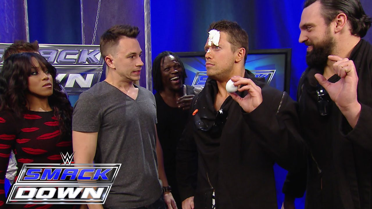 """Download Superstars watch Justin Flom from """"Wizard Wars"""" get tricking backstage: SmackDown, January 29, 2015"""