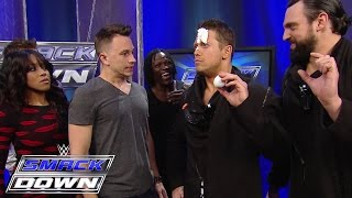 "Superstars watch Justin Flom from ""Wizard Wars"" get tricking backstage: SmackDown, January 29, 2015"
