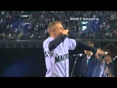 Macklemore's Dave Niehaus Tribute - Safeco Field 4/8/11 (TV Version)