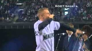Repeat youtube video Macklemore's Dave Niehaus Tribute - Safeco Field 4/8/11 (TV Version)