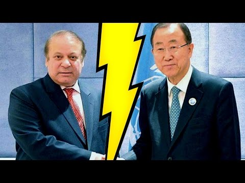 Ban Ki-Moon Dismisses Pakistan's Report Against India