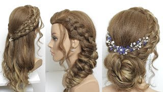 3 Simple Party Hairstyles For Long  Medium Hair