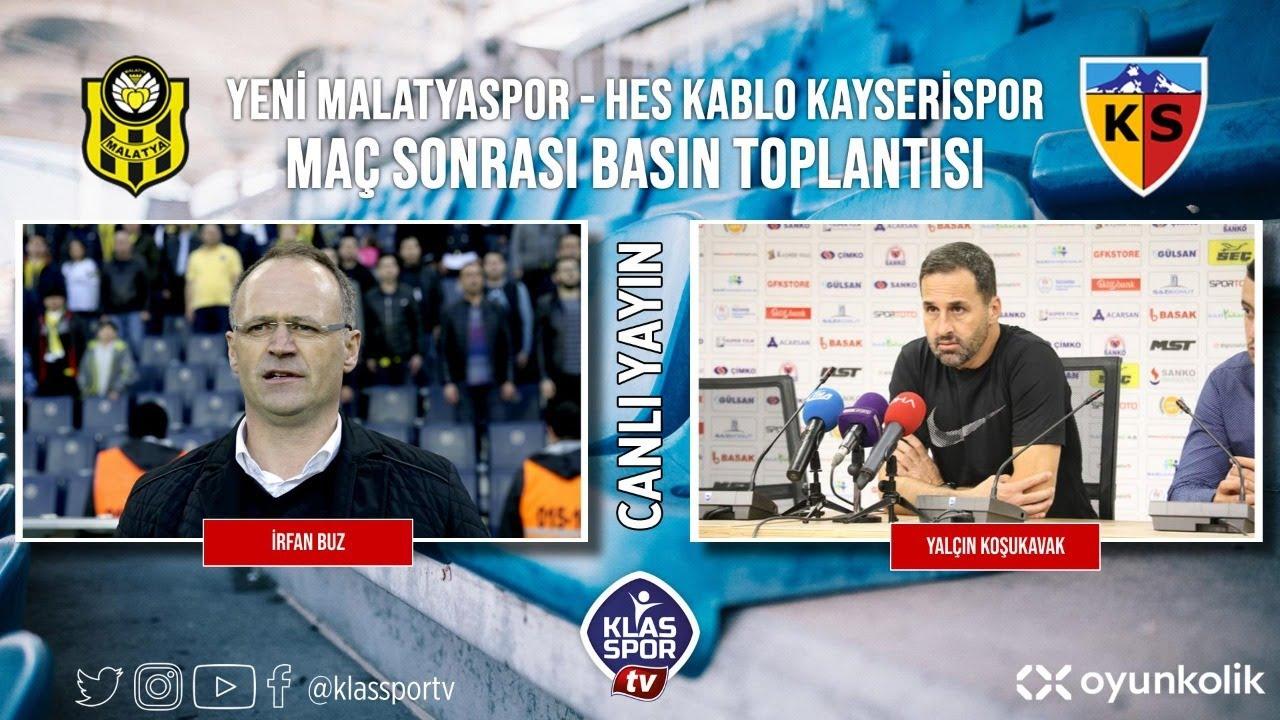Malatyaspor- Kayserispor Basın Toplantısı ᴴᴰ (CANLI)