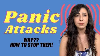 PANIC ATTACKS | Mental health Over Coffee | Micheline Maalouf #panicattack #mentalhealth #anxiety