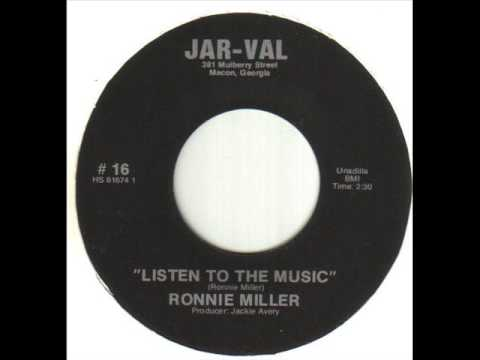 Ronnie Miller Listen To The Music