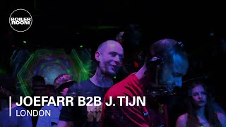 JoeFarr B2B J. Tijn Boiler Room London DJ Set