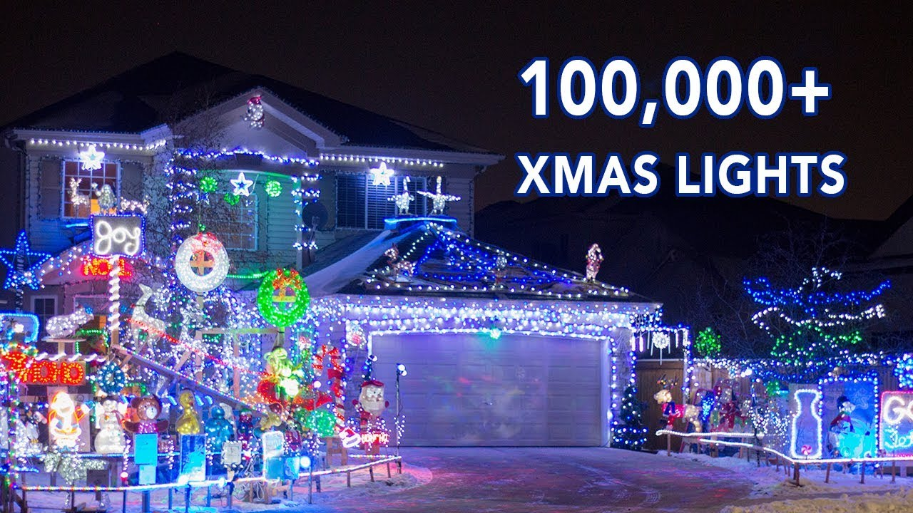 Have you ever seen Christmas Lights like this? — Winnipeg, Canada - YouTube